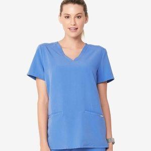 NWT FIGS Casma Ceil Scrubs 3 Pocket Top Shirt